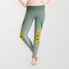 Pineapple Leggings by Mailboxdisco