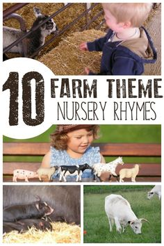 Sing along with these fun farm animal themed nursery rhymes and songs ideal for singing with toddlers and preschoolers. With full lyrics, you can be sure to remember these and try them out next time you head to the farm with your kids. Farm Animals Preschool, Nursery Rhymes Preschool, Nursery Rhymes Songs, Farm Animal Nursery, Farm Nursery, Nursery Themes, Themed Nursery, Farm Activities, Animal Activities