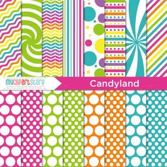 candy land invitation template free - Google Search