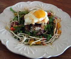 Korean Bibimbap Salad - Main Course #recipe #dinner #egglandsbest