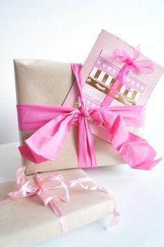 ✄ BIRTHDAY CARD #DIY #wrapping #card #birthdaycard