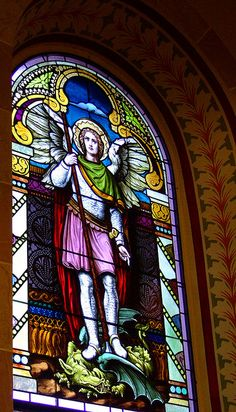 Archangel Michael    St. Mary's Catholic Church, in Altus, Arkansas.