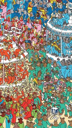 Where's Wally. Where's Waldo. Iphone 5 Wallpaper, Mobile Wallpaper, Where's Waldo Pictures, Ou Est Charlie, Can You Find It, Wheres Wally, Hidden Pictures, Right Brain, City Photo
