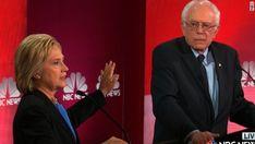 Clinton, Sanders clash at debate on guns, health care and Wall...: Clinton, Sanders clash at debate on… #Democraticdebate #BernieSanders