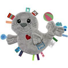 Le doudou plat phoque Friends par label Label est tout doux et permet de rassurer bébé à la maison comme en balade. En forme de phoque, ils deviendra le compagnon réconfortant de l'enfant.