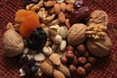 frutos secos, snacks saludables