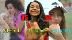ARIANN MUSIC VS ANGELIC VS NICOLE GATTI   ME ENAMORE   SHAKIRA(COVER)