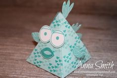 Stampin' Up! Playful Pals Valentine's or Party Fish Treat Box
