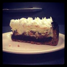 Our delicious Snicker Pie.