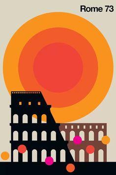 Mtv, Coca Cola, Rome, Illustration Design Graphique, Retro Graphic Design, Poster Online, Kunst Poster, Graffiti, Art Mural