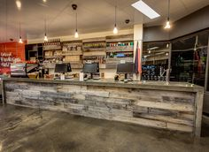 Sustainable Foodstore designed and fabricated by dhab Studios. #sustainable #Hobart #Tasmania
