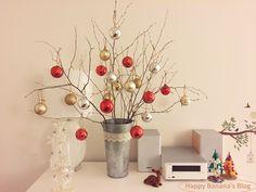 いよいよクリスマスが迫ってまいりました~。アドベントカレンダー、木の枝のぽんぽんツリーに続いて、クリスマスデコレーション第3弾を作ったのでご紹介させてください。と言っても、今回も木の枝ツリーですけど😁木の枝で作るクリスマスツ