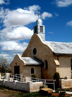 Old Adobe Church San Ysidro, New Mexico