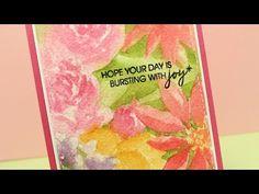 Watercolor Flowers Series #13: Mondo watercolor flowers – Sandy Allnock