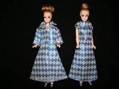 Topper Dawn Denise Dolls with Blue Diamond Coat Gown | eBay