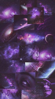 Spacio Purple Wallpaper Iphone, Mood Wallpaper, Iphone Wallpaper Tumblr Aesthetic, Black Aesthetic Wallpaper, Purple Backgrounds, Cute Wallpaper Backgrounds, Purple Aesthetic, Pretty Wallpapers, Galaxy Wallpaper