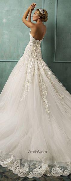 Tendance Robe De Mariée 2017/ 2018 : Amelia Sposa 2014 Wedding Dresses www.wedding-dress......