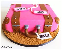 Suitcase cake | Cake Ideas | Pinterest | Suitcase cake, Cake and ...