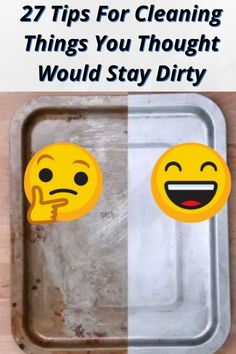 27 Tips For Cleaning Things You Thought Would Stay Dirty Cleaning Items, Household Cleaning Tips, House Cleaning Tips, Diy Cleaning Products, Cleaning Solutions, Cleaning Hacks, Household Cleaners, Cleaning Supplies, Cleaning Recipes