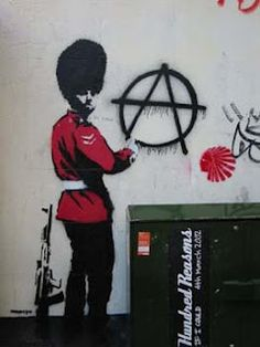 Banksy...u dont know what is inside his heart