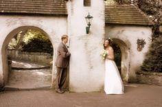In 2008 werd deze mooie trouwfoto gemaakt in de Efteling
