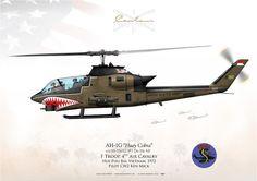 UNITED STATES ARMYF Troop, 4th Air Cavalry. Hue-Phu Bai, Vietnam. 1972Pilot CW2 Ken Mick