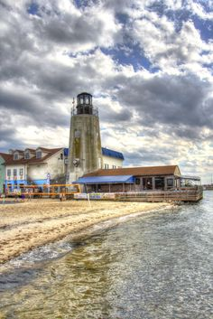 Lighthouse - Dewey Beach Delaware