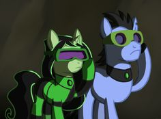MLP Drakken and Shego some screen by ~Kethavel on deviantART                    i don't know why i like this so much