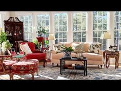 (10) Amazing French country style is undeniably charming - YouTube French Country House, French Country Decorating, Country Homes, Interior Design Videos, House Tours, Outdoor Furniture Sets, Living Spaces, Interior Decorating, House Design