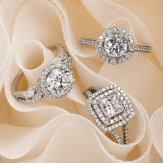 Monique Lhuillier engagement rings.