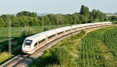 Deutsche Bahn ICx on a test run at ŽZO Cerhenice (CZ)