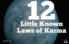 [[MORE]] Source: Social Consciousness What is Karma? Karma is the Sanskrit word for action. It is equivalent to Newton's law of 'every action must have a reaction'. When we think, speak or act we. Lessons Learned, Life Lessons, Life Tips, 12 Laws Of Karma, Inner Peace, So Little Time, Law Of Attraction, Wise Words, Quotes To Live By