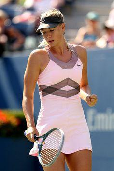 Women Nike $130 Maria Sharapova's US Open 2012 Backcourt Day Tennis Dress-Size L #Nike #SkirtsSkortsDresses