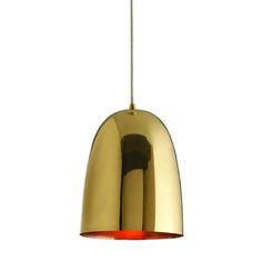 Savoy Large Polished Brass Pendant by Arteriors