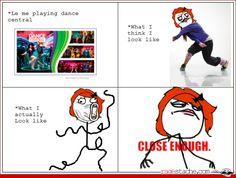 Dance central fail