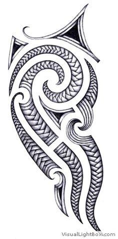 tattoo maori epaule dessin - Recherche Google