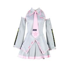 Vocaloid Family Cosplay Costume - Sakura Hatsune Miku 2nd-SilXX-Small *** You can get additional details at the image link.