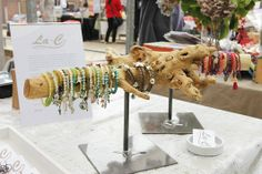 Jewelry display www.la-c.nl industrial with a natural touch