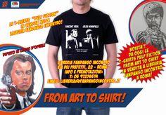 "Enrico Sordi: Novità! Le T-Shirts ""Pulp Fiction"" in vendita a Li..."