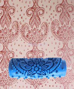 Farbwalze Farbrolle Malerwalze Musterroller Tapezierrolle f. DIY Wall Decor. in Heimwerker, Farben, Tapeten & Zubehör, Malerbedarf   eBay