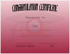Congratulation Templates Congratulations Card Templates Word, Congratulation  Certificate Template For Word Document Hub, Congratulations Card Template  24 ...  Congratulation Templates