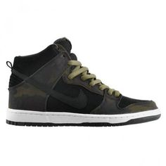 NIKE DUNK HIGH PRO SB IGUANA/BLACK #sneaker