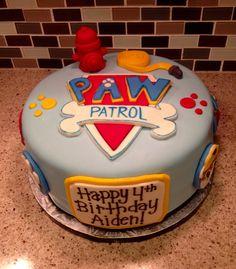 Paw patrol cake ***LOVE THIS CAKE***