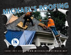 Michael's Roofing ensures that your roof will be repaired or remodeled correctly and efficiently with the top-of-the-line materials. Whether you call us for a roofing repair or for new roof installation, rest assured that we will respond to your needs as soon as possible and take every project with the utmost care. Roof Installation, Roofing Services, Roof Repair, Rest, Top, Crop Shirt, Shirts