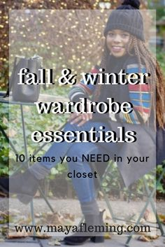Wardrobe essentials for colder weather