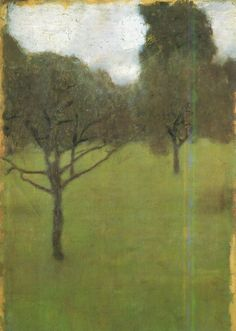 """Orchard, 1896 Gustav Klimt """