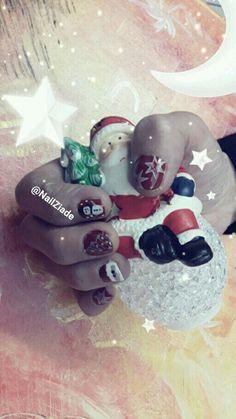 Noël nail art