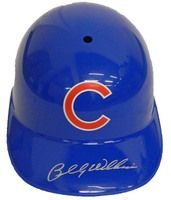 Billy Williams Signed Cubs Replica Batting Helmet