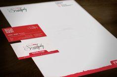 Serendipity Vineyard stationery suite design