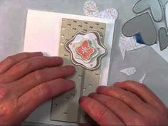 A Video by Shari Carroll using the Simon Says Stamp February 2013 Card Kit.